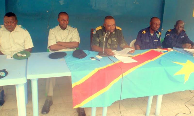 Tribunal militaire de Matadi siégeant en chambre foraine.