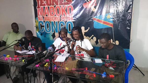 Y'en a Marre et balai citoyen à Kinshasa
