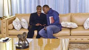sassou et son fils