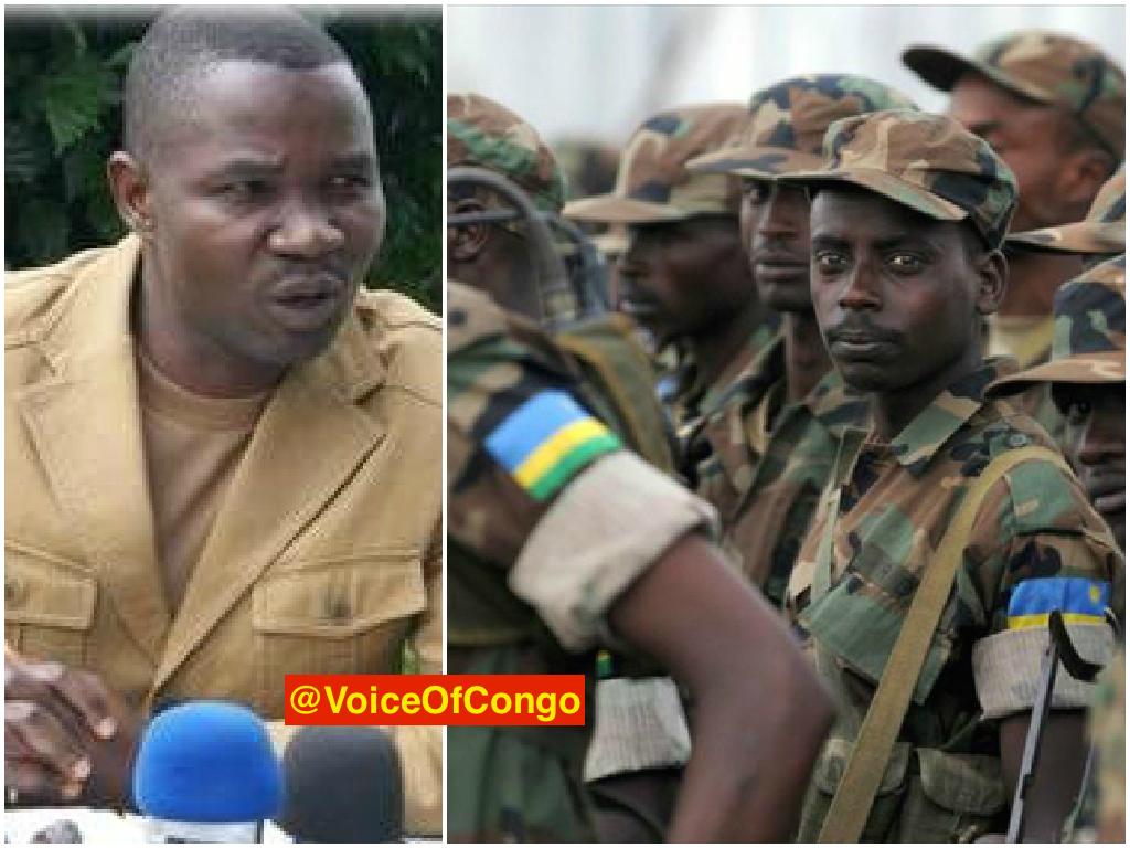 Paluku Julien et soldats rwandais