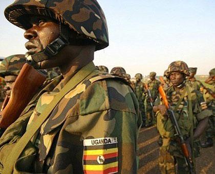 Ugandan-troops
