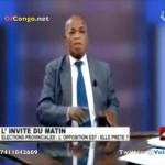 RDC: Elections provinciales et Dialogue: L'Opposition est elle prete? Gabriel MOKIA s'explique