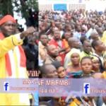 Démonstration: Plein à Craquer aux différents lieux de passage de NE MUANDA NSEMI au Bas Congo