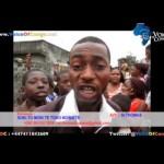 KINSHASA: MOMBELE, Colère de la population surfacturée par la SNEL malgré le manque d'électricité. (VIDEO)