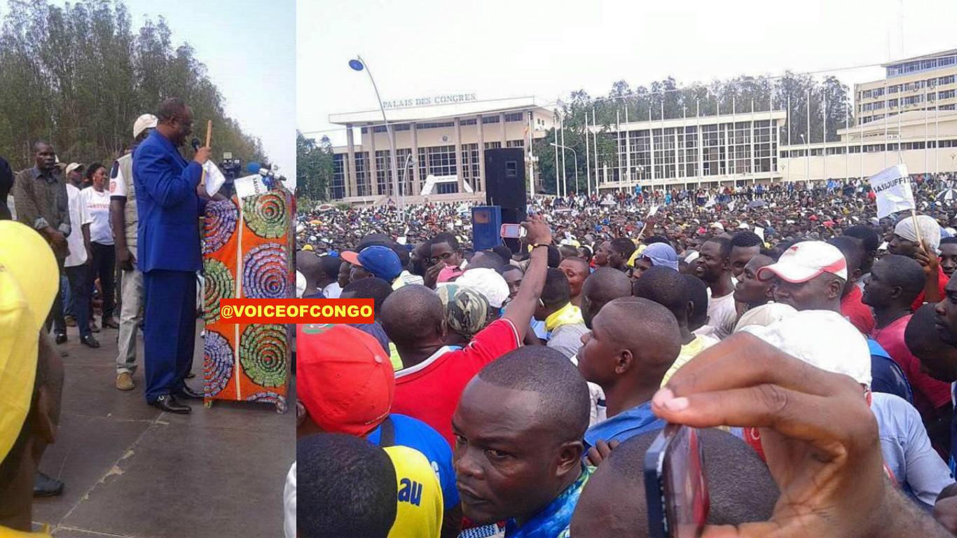 Opposition à Brazzaville