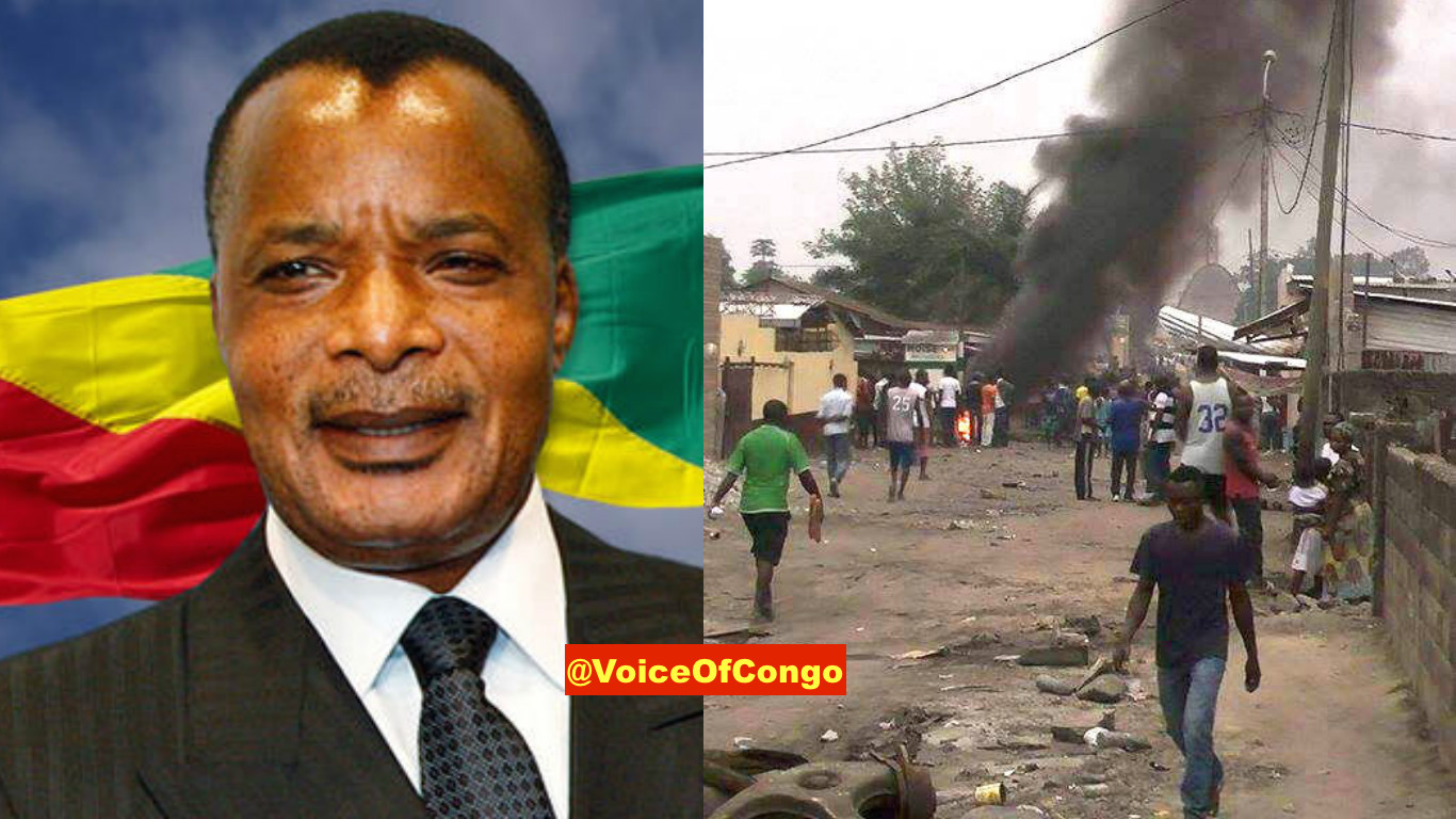 Sassou Ngueso brazza tirs