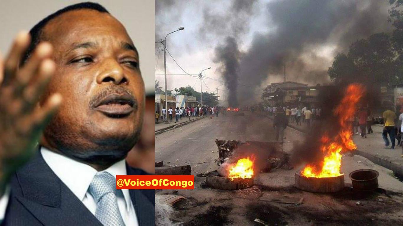 sassou et émeute