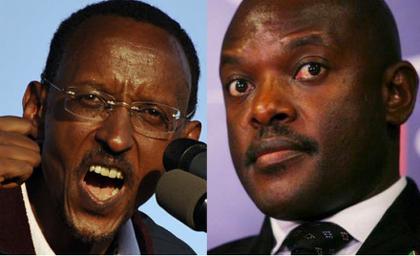 Kagame et Kurunziza