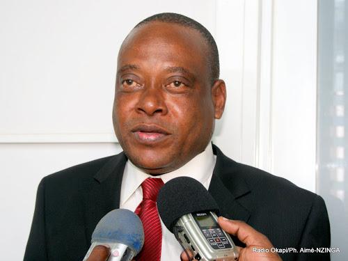 Steve Mbikayi, Président National du PT et député national, le 17/02/2012. Radio Okapi/Ph. Aimé-NZINGA