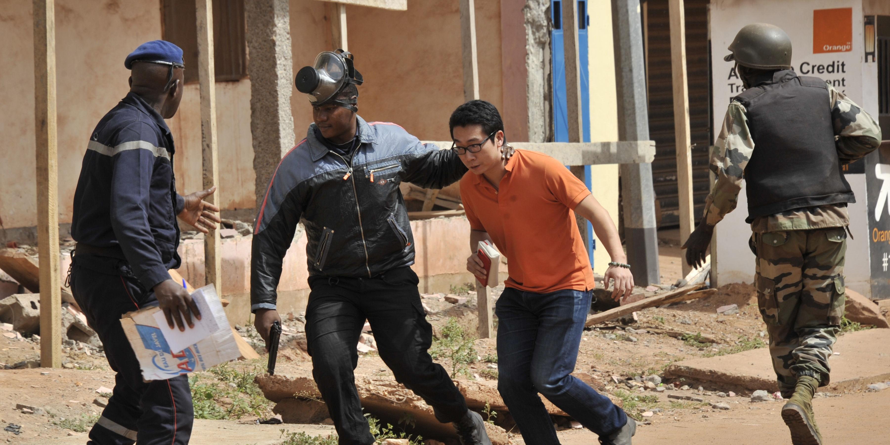 Prise d'otage Bamako