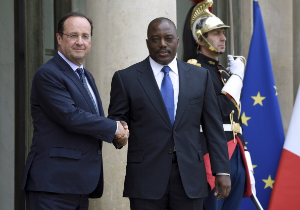 FRANCE-DRCONGO-HOLLANDE-KABILA