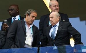 Platini et Blatter 2