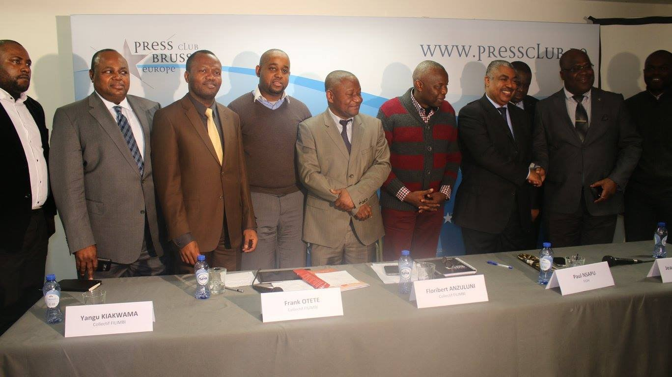 Bruxelles: Après l'Île de Gorée,Lancement du «Front Citoyen 2016» qui fait trembler Kabila