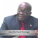 J.B. Ewanga : «N'en déplaise au procureur, nous agirons selon l'art 64 de la Constitution.»