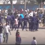 La cible était Moise KATUMBI: La Police et l'Armée répriment les Fans du TP MAZEMBE à Kamalondo