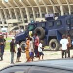 Champion d'Afrique, Les Léopards escortés à vive allure à Kinshasa: ils n'ont pas eu droit au bain de foule traditionnel