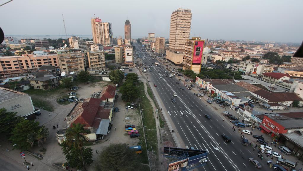 Vue de Kinshasa