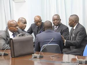 Des membres de l'opposition congolaise. Radio Okapi/ Ph. John Bompengo