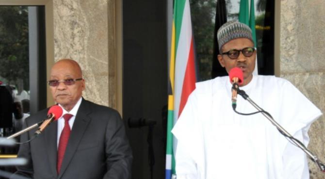 Zuma and Buhari