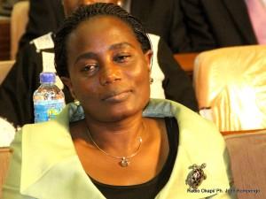 Jaynet Kabila. Radio Okapi/ Ph. John Bompengo