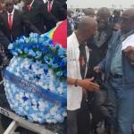 [PHOTOS] L'arrivée du de la dépouille mortelle de Papa Wemba à Kinshasa