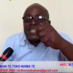 DESIRE MBONZI WA MBONZIA du MLC: Dialogue est une distraction et dénonce une Corruption de députés par la MAJORITÉ Présidentielle avec une somme de $15.000 par député