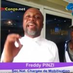 FREDDY PINZI/UDPS parle de KATUMBI, KAMERHE et Dénonce à Haute-Voix le double jeu de la Dynamique