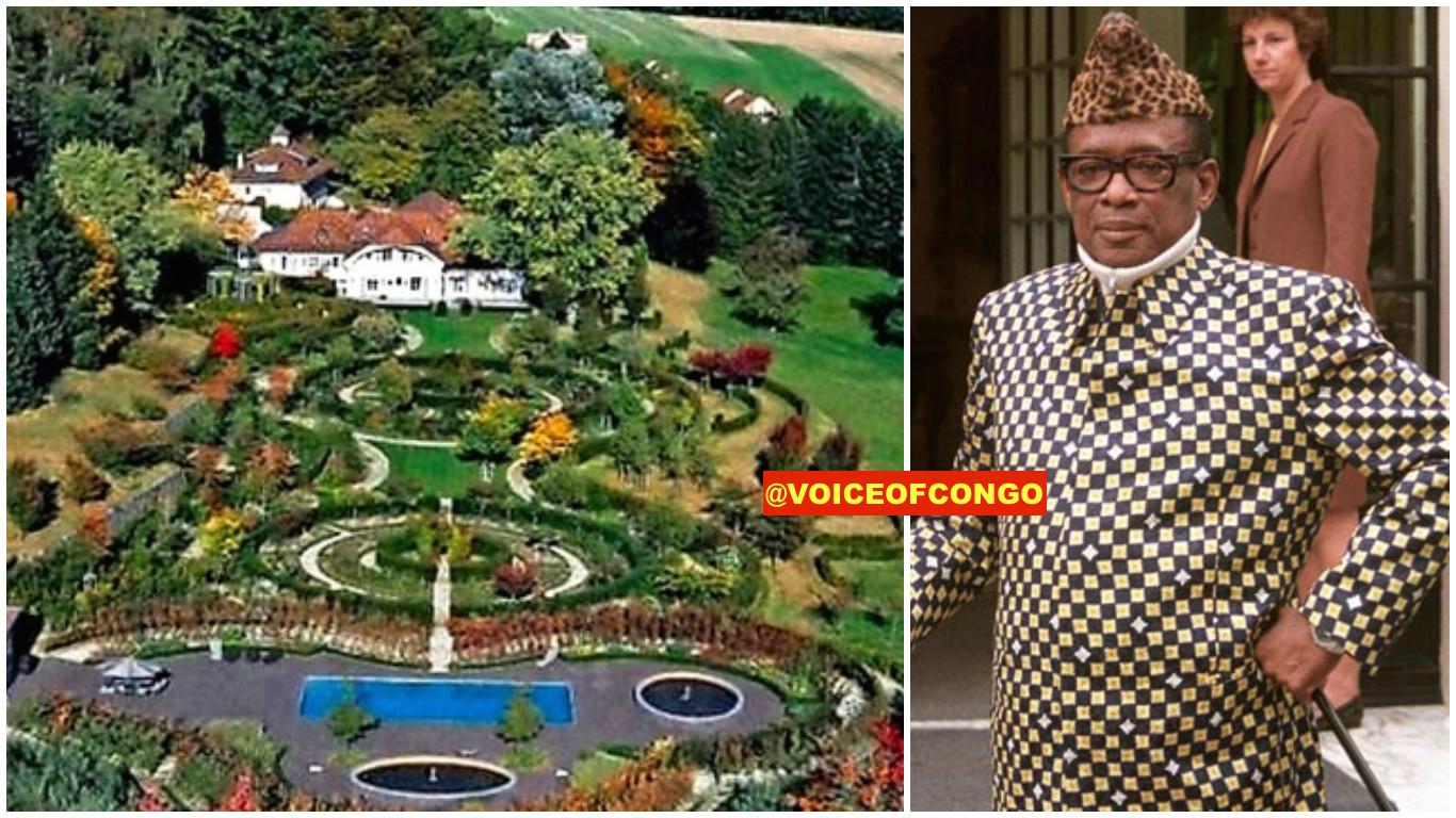 Mobutu et sa maison
