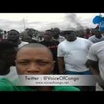 Image des Manifestations à Kinshasa et Goma, avec Felix TSHISEKEDI, Martin FAYULU & JM KABUND