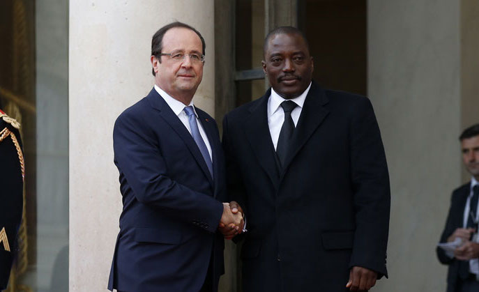 Francois-Hollande-et-Joseph-Kabila