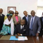 Emmanuel Ilunga de l'ARP, dissident du Rassemblement vient de signer l'accord