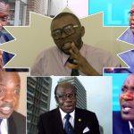 ERNEST LIKIYO «Fils de NGBANDA» Apupoli DANIEL NSAFU, ELIEZER, MIKE MUKEBAYI et FELIX TSHISEKEDI