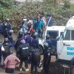 Goma: la marche de la LUCHA a fait plusieurs blessés par balles, trois journalistes, une trentaine des militants interpellés par la PNC