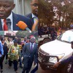 FELIX TSHISEKEDI escorté par la Police à LUSHI et UNC/KAMERHE se retire du GOUVERNEMENT TSHIBALA [VIDEO]