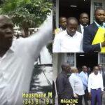 Ndeko ELIEZER, Mike MUKEBAYI et autres ont accompagné DANIEL NSAFU au CSAC
