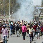 Goma : Des heurts entre policiers et manifestants au quartier Majengo