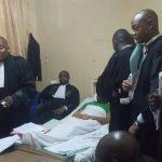 Gecoco Mulumba a finalement comparu devant la justice…à partir de son lit d'hopital