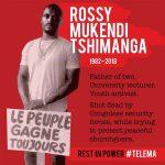 Trois mois après son assassinat, les obsèques de Rossy débutent aujourd'hui