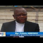 """Monseigneur Fridolin AMBONGO: """"L'Objectif ce n'est pas la machine à voter, l'objectif c'est les elections"""""""