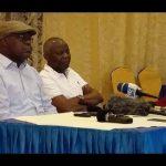 [VIDEO] Face à la Presse Vital et Félix à Goma Moïse Katumbi et nous ne sommes pas des ennemis