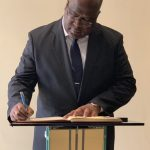 Message laissé dans le livre d'or par S.E Felix TSHISEKEDI ce 25 mars 2019, au Mémorial du Genocide de Kigali