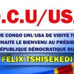 Visite de Fatshi à Washington : La fédération DCU- USA a tenu une reunion préparative en présence du chargé des affaires diplomatiques du parti