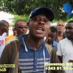 [VIDEO] AFFAIRE PANTIN: BA COMBATTANTS YA UDPS TRES EN COLERE CONTRE MARTIN FAYULU
