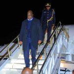 Le Président Tshisekedi est arrivé aux USA