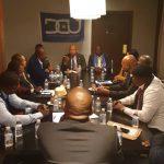 DCU : A Washington, Vidiye Tshimanga a tenu une reunion de conscientisation avec les cadres de la fédération USA du parti
