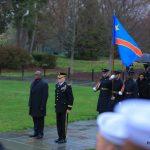 USA : Le président Felix reçoit des honneurs militaires pour marquer la fin de sa visite au pays