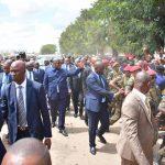 Lubumbashi : bain de foule pour Fatshi à la sortie de l'aeroport