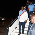 RDC : Arrivé à Boma, Fatshi va lancer les travaux d'asphaltage de la route Boma – Moanda