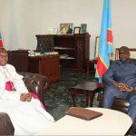 RDC : L'Archevêque Fridolin Ambongo a rencontré hier le Président Felix Tshisekedi