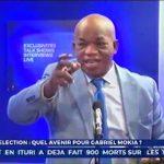 """[VIDEO] Gabriel MOKIA : Pourquoi je soutiens Felix TSHISEKEDI, """" le Fils de mon Vieux"""" ?"""